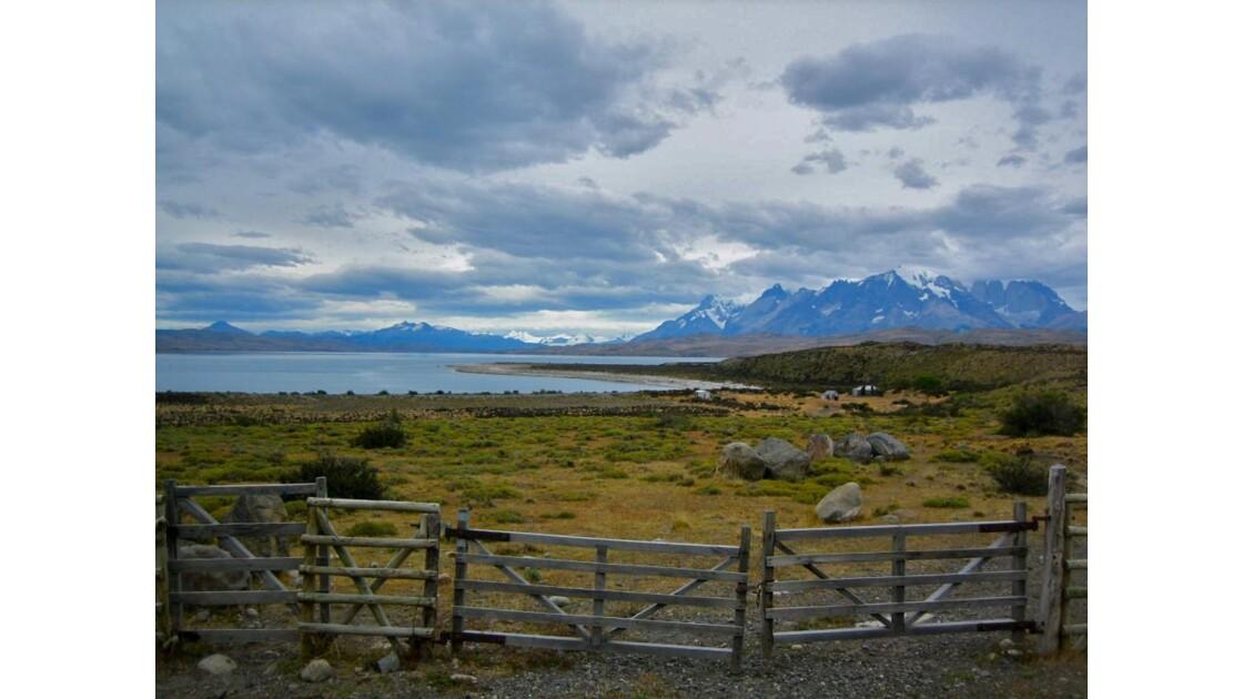 Entrée du parc Torres del Paine