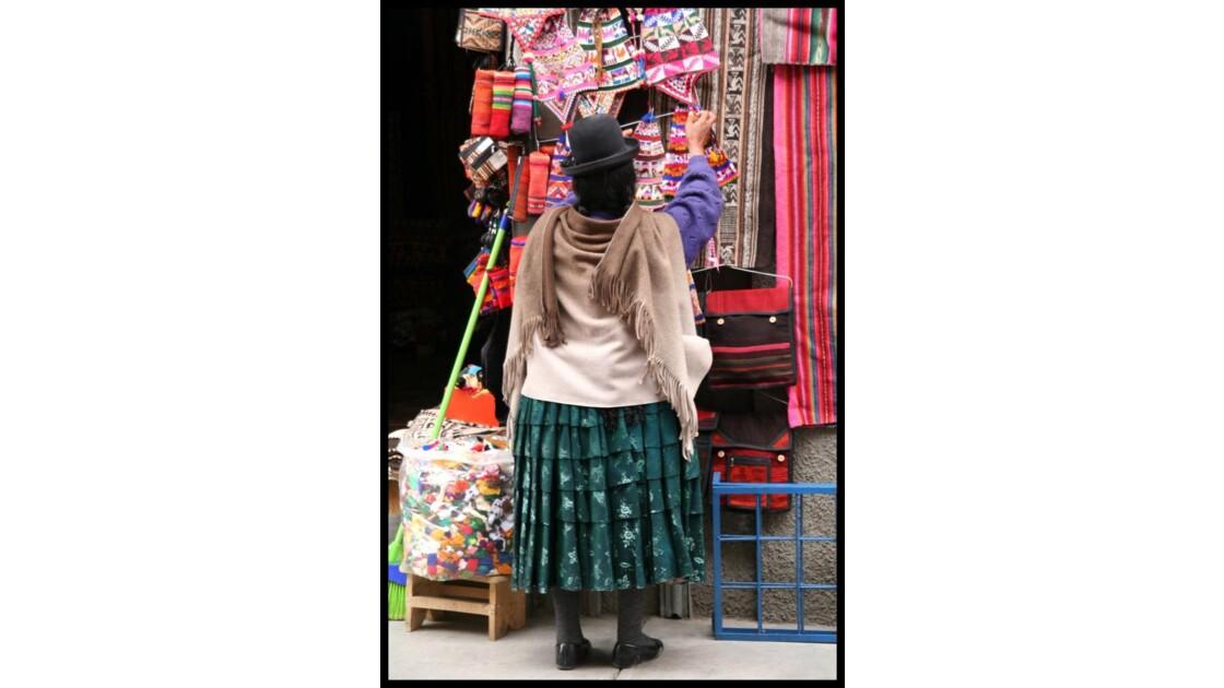 Une bolivienne