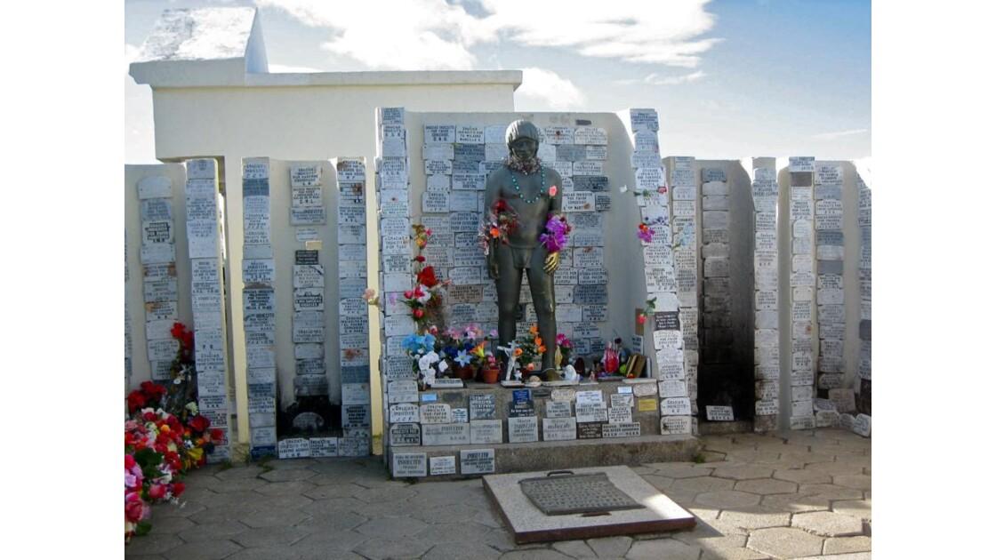 Punta Arenas:Monument à l'Indien Inconnu