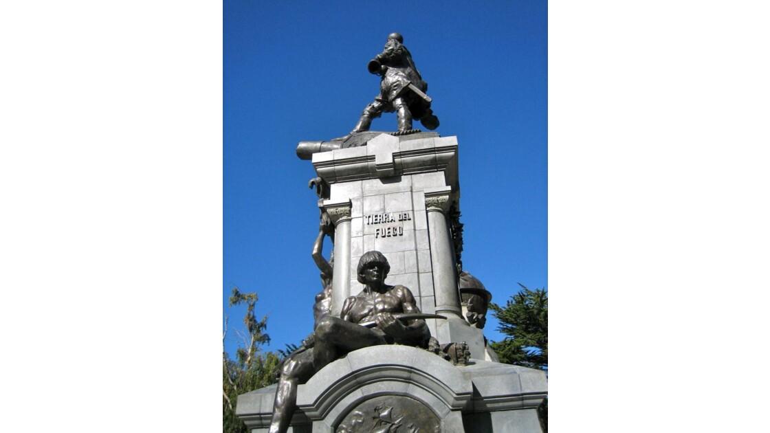 Punta Arenas: monument à Magellan