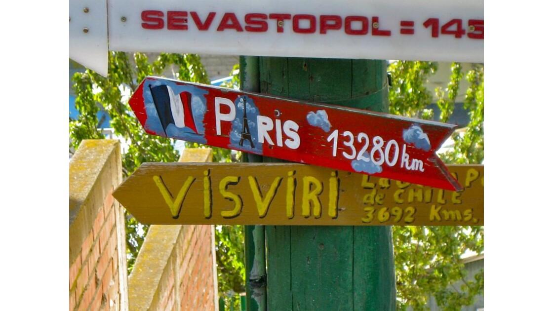 Punta Arenas: à 13280 km de Paris