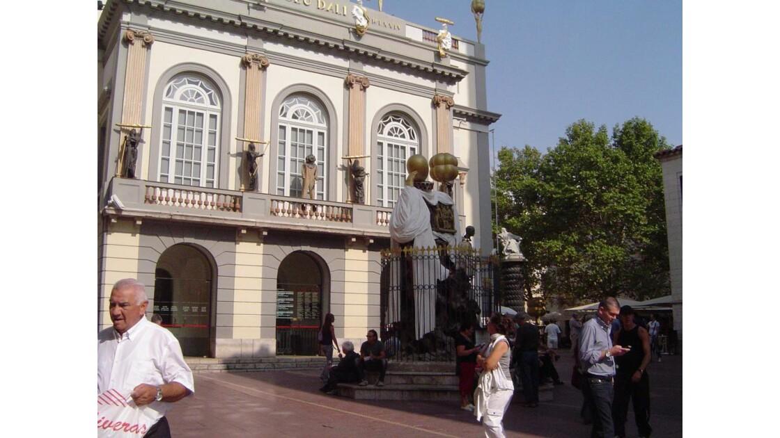 sortie du musée Dali
