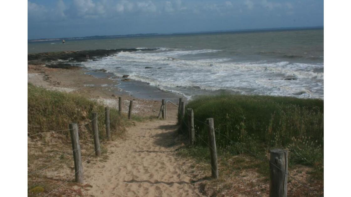ce petit chemin !!! qui sent la marée !!