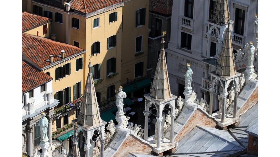 toits de Venise et basilique St-Marc...