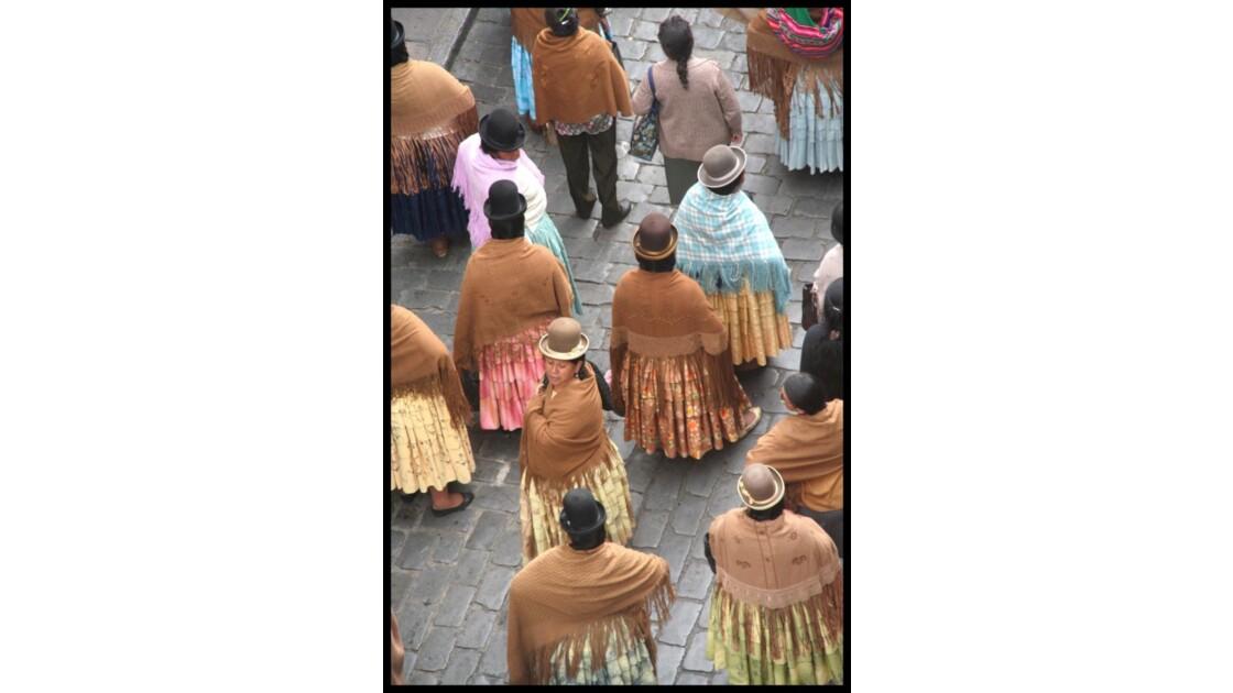 Des boliviennes