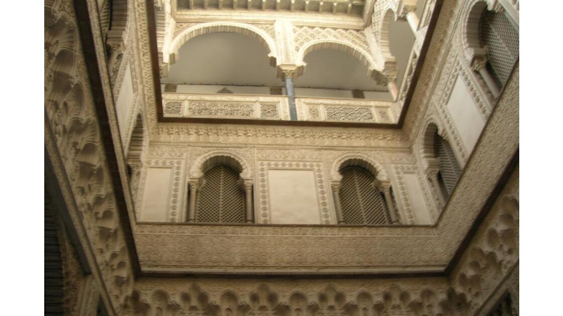 Cour intérieure aux Réales Alcazares