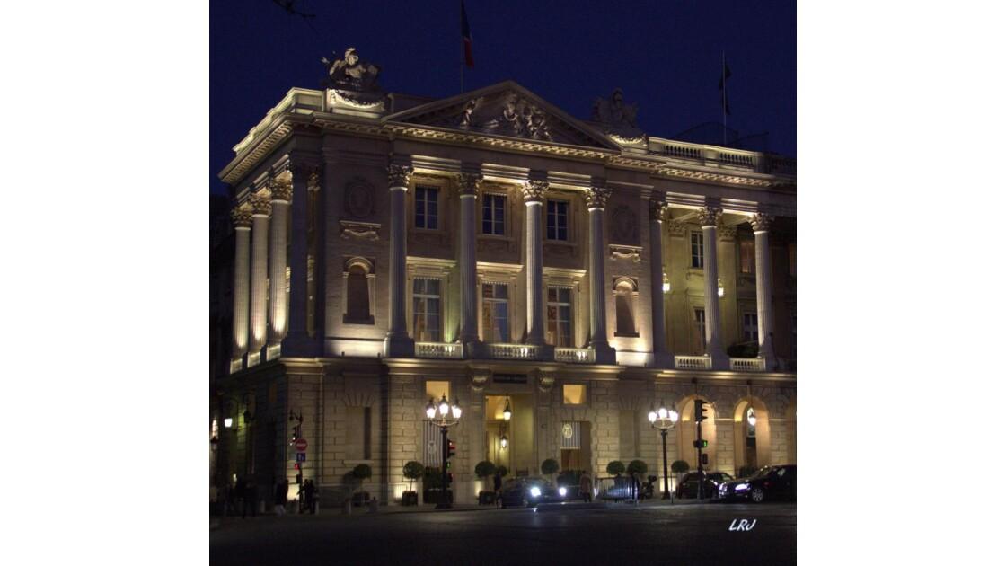 Hotel De Crillon.