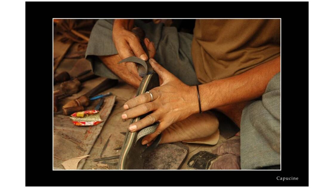 Main d'artisan