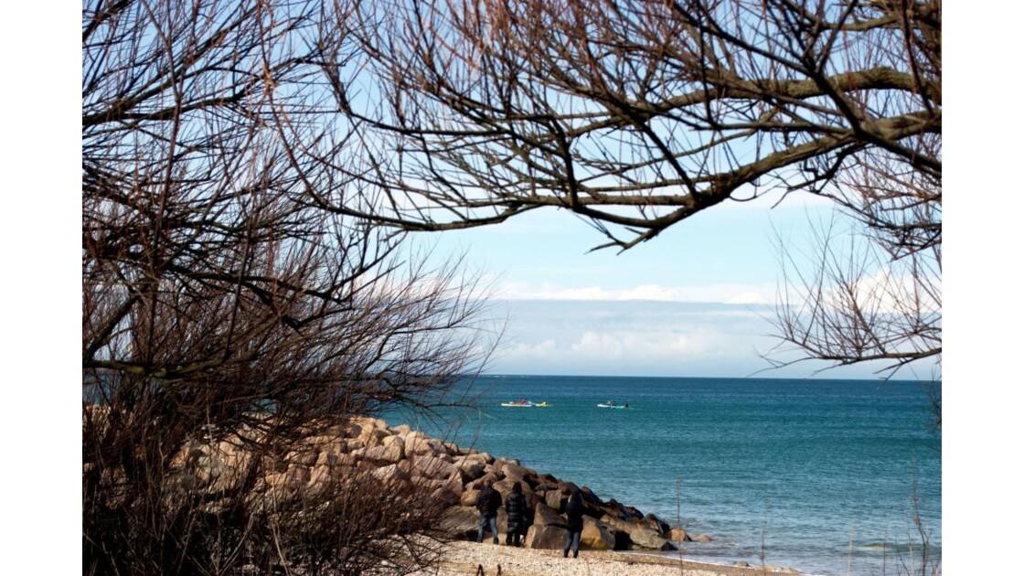 Kayaks de mer en vue....