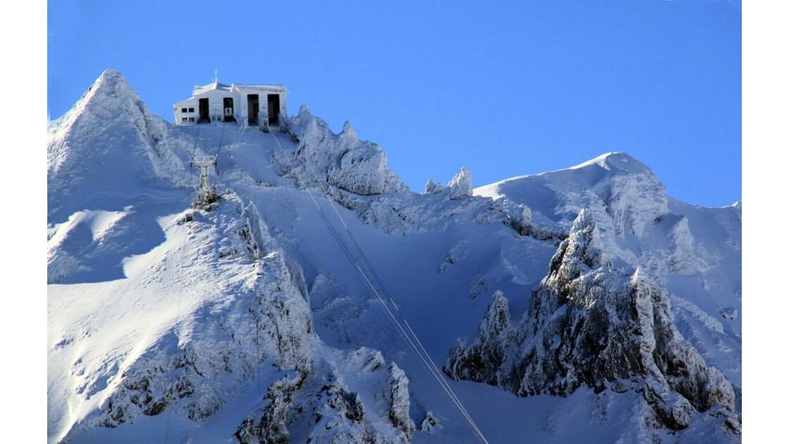 au Mont Dore...téléphérique