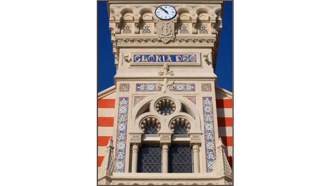 Chapelle Algérienne, détail haut façade