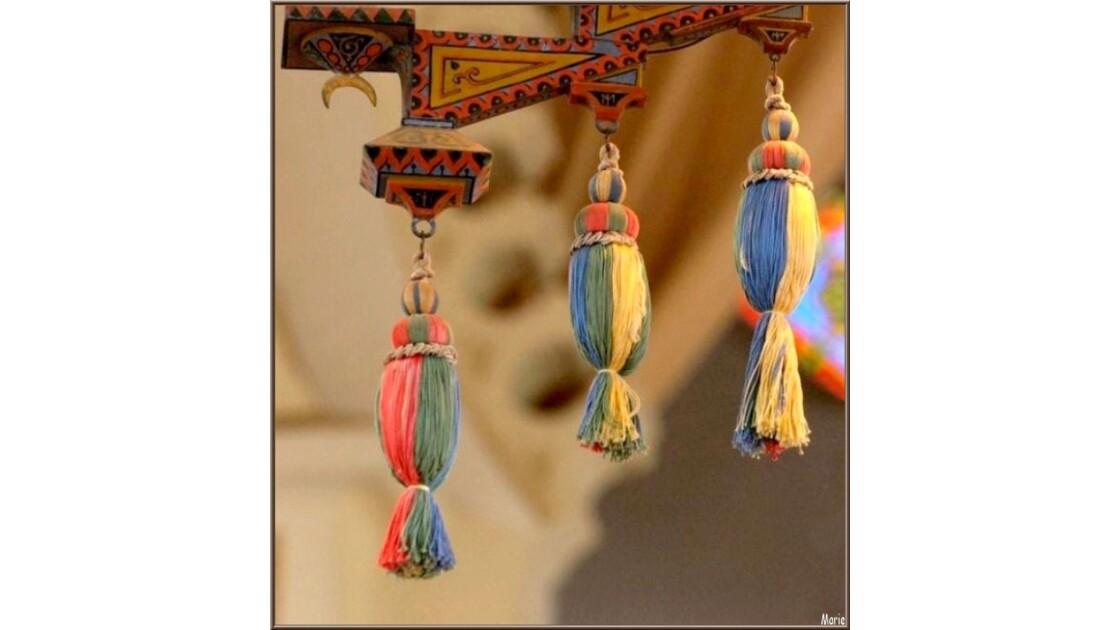 Chapelle Algérienne, lustre détail_P221