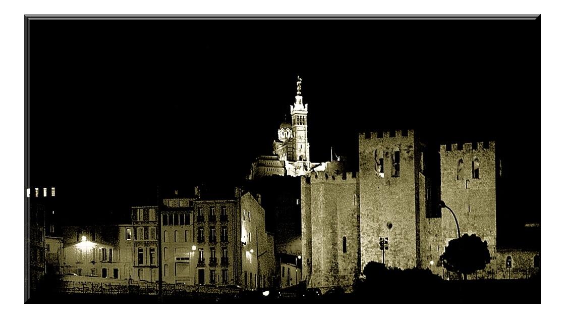 L'abbaye Saint-Victor.