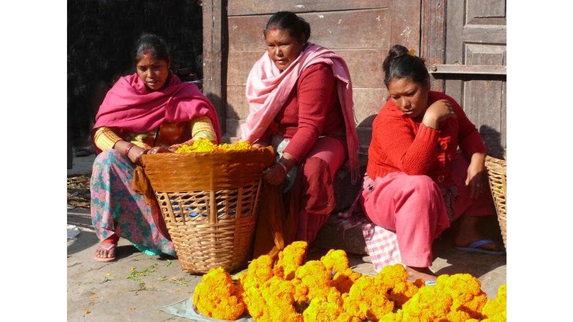 Marchandes de fleurs