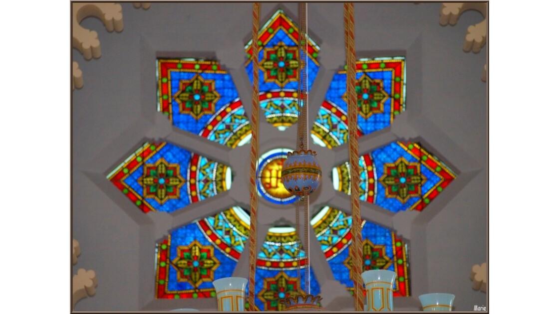 Chapelle Algérienne, rosace dessus aute