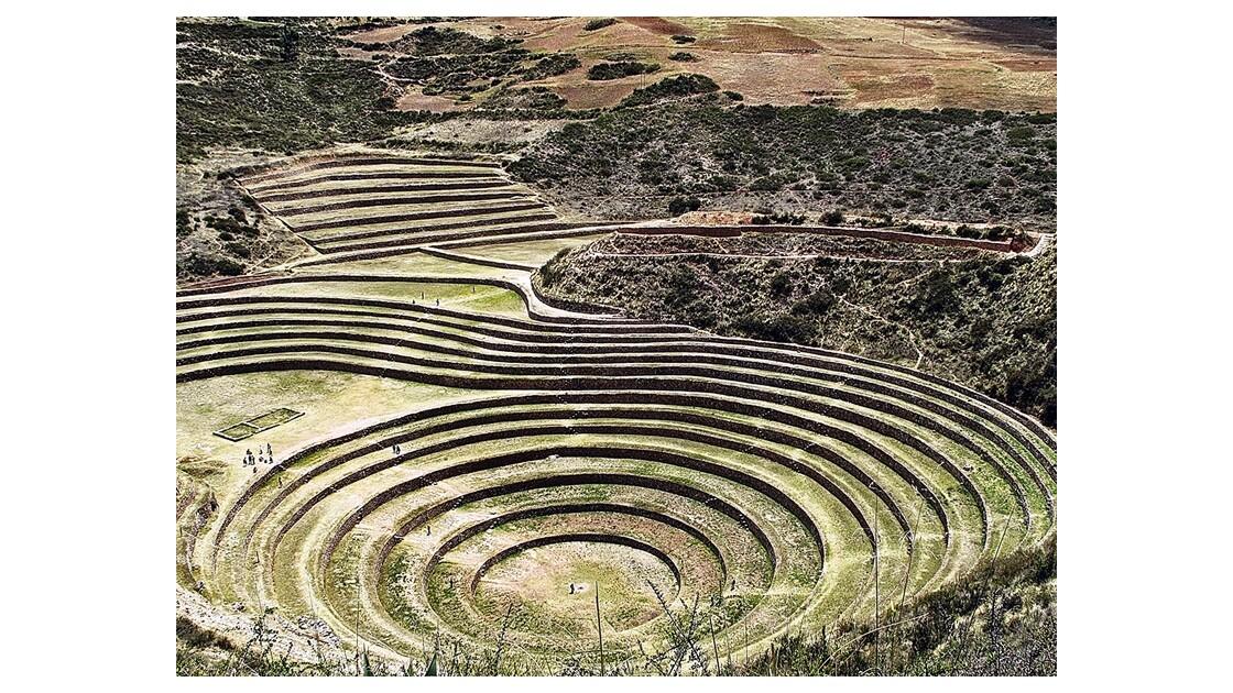 Laboratoire agronomique inca de Moray