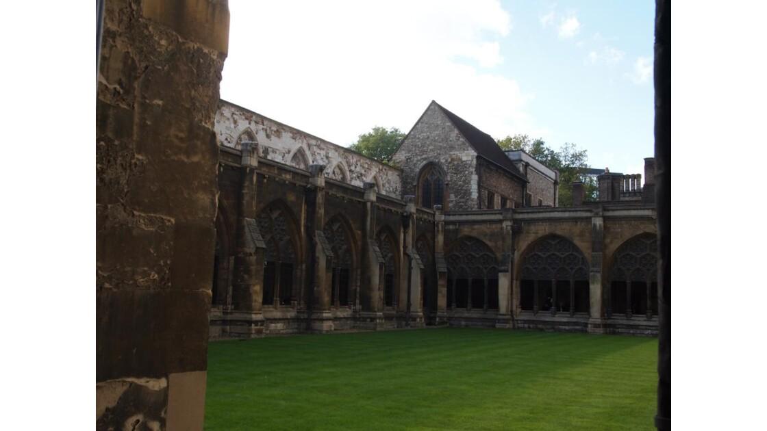 jardin de l'abbaye de Westminster