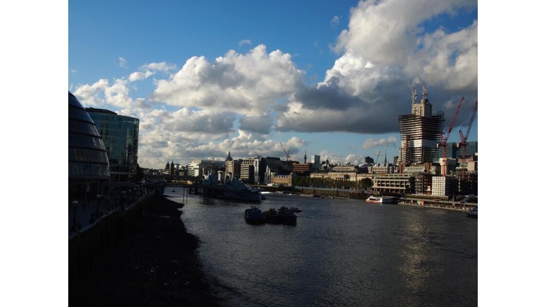 tamise vue de London Bridge.