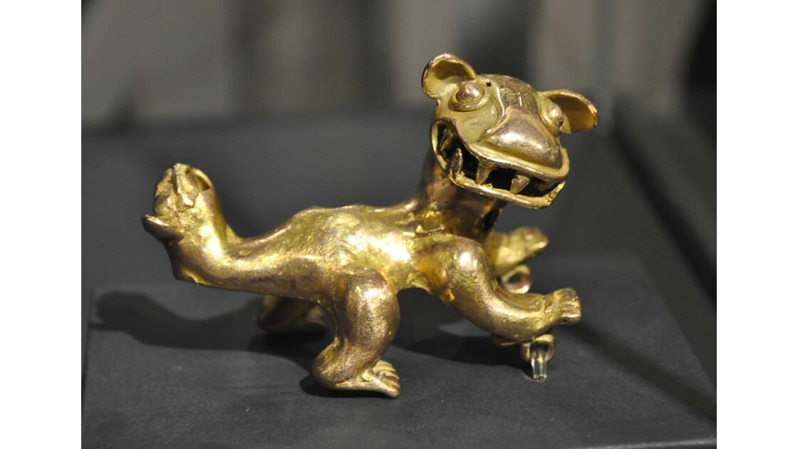 Statuette en or, Musée de San Jose
