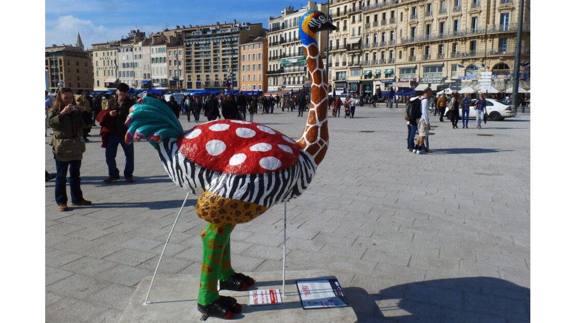 réchauffement climatique à Marseille!