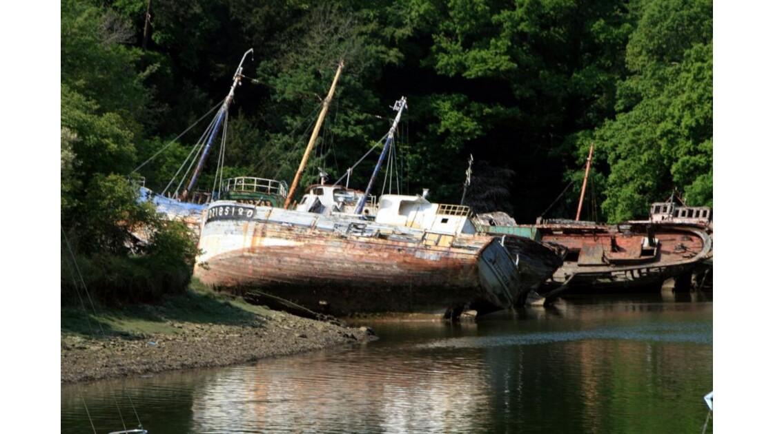 Cimetière de bateaux Douarnenez
