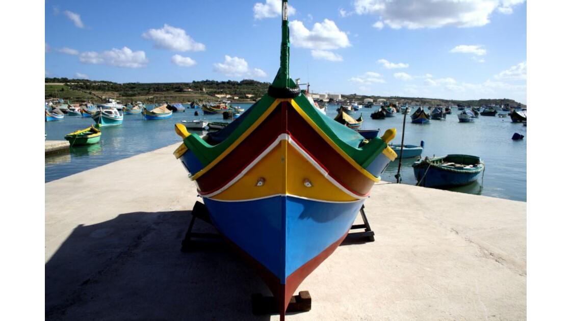Le Luzzu, bateau traditionnel