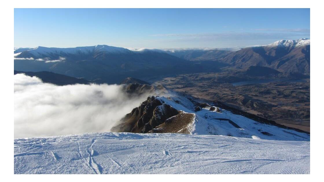 Au sommet des montagnes - Coronet Peak