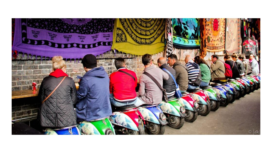 Tous en scooter