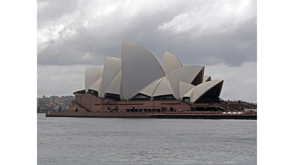 Sydney Opera House mauvais temps