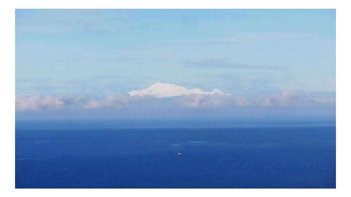 Au beau milieu de l'océan...