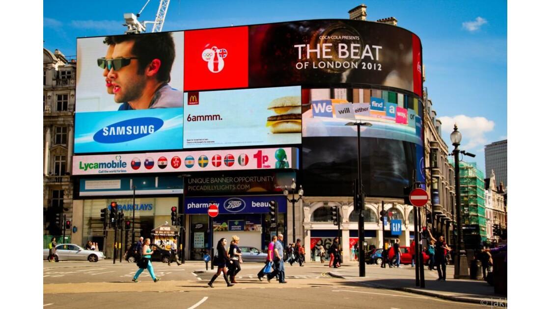 Times Square londonien !!!