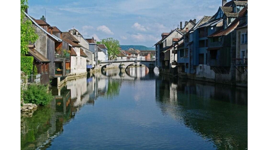 La Loue à Ornans (Doubs).