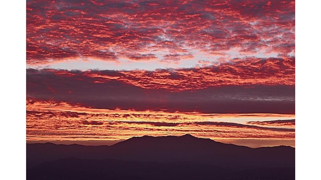 Ciel de novembre matinal