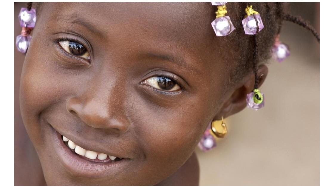 Sourire aux perles