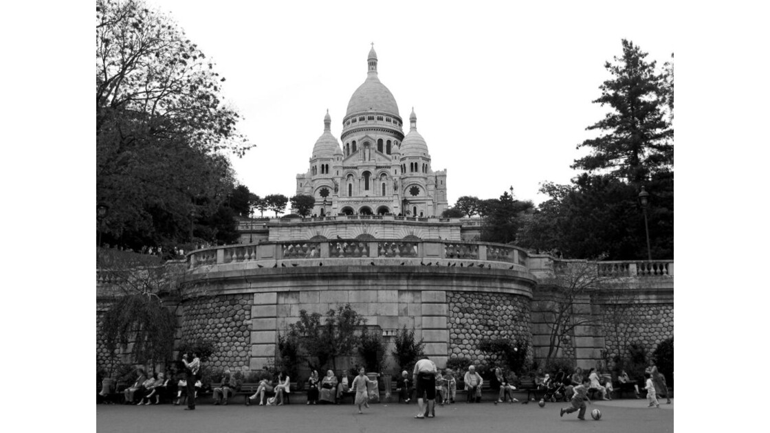 Montmartre Sacré-Coeur !
