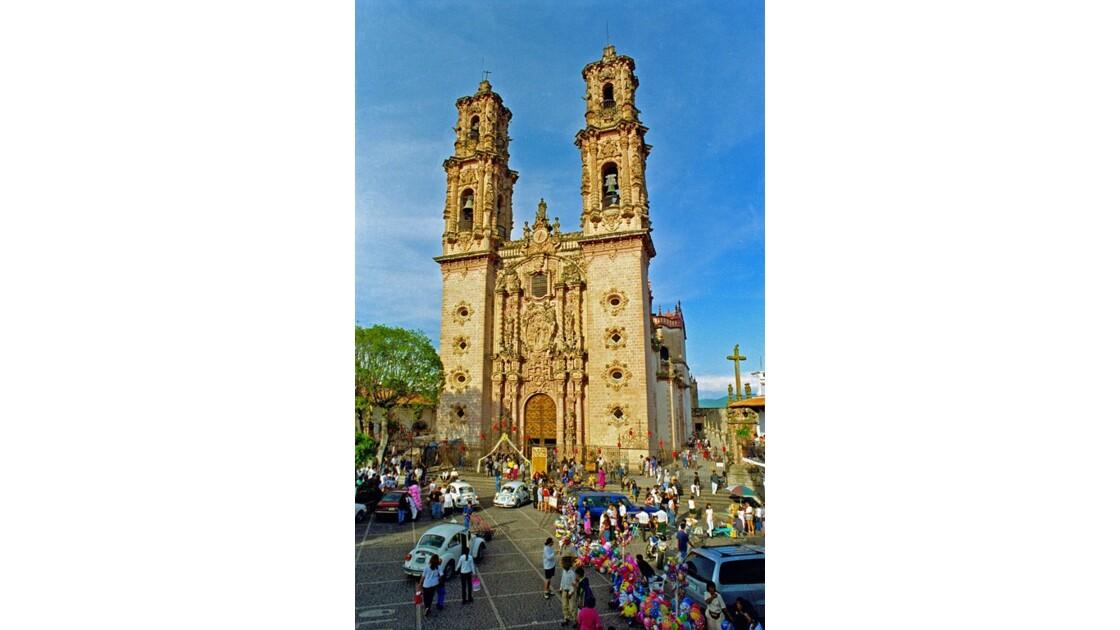 Mexique Taxco Santa Prisca y S.Sébastia
