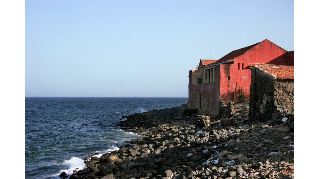"""Maison dite """"des Esclaves"""" à Gorée"""