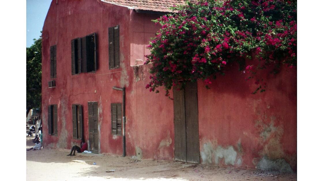 Belle maison de l'île de Gorée