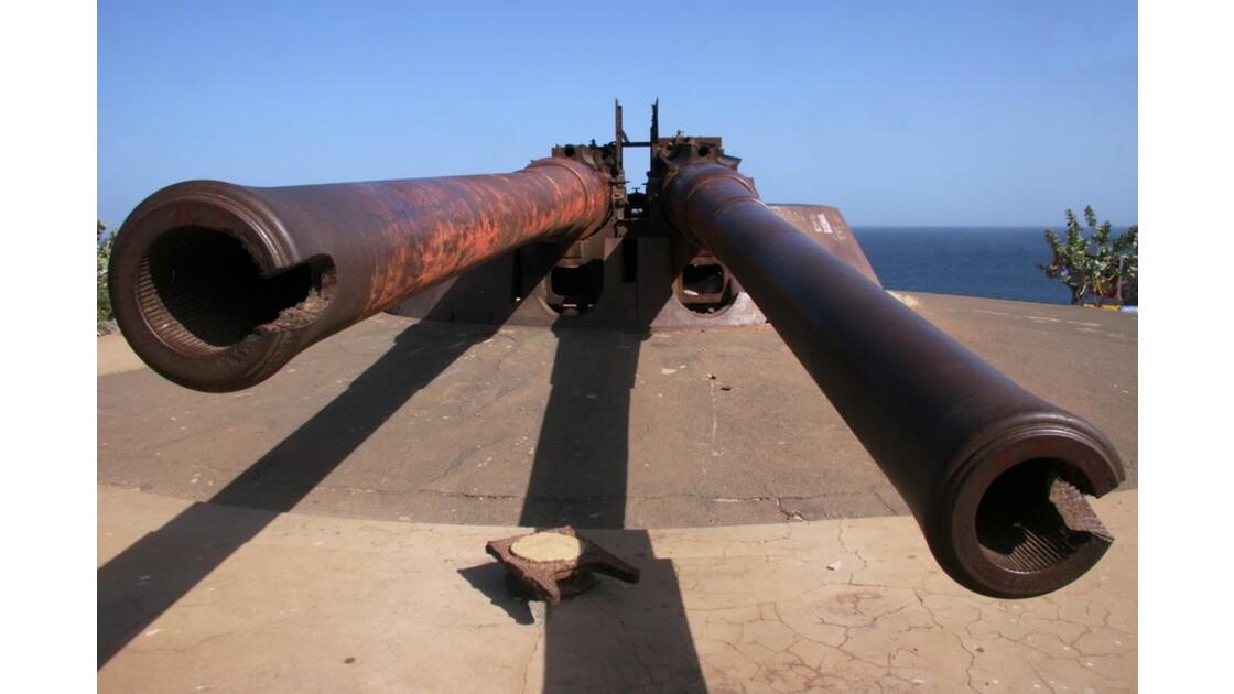 Les Canons de l'île de Gorée