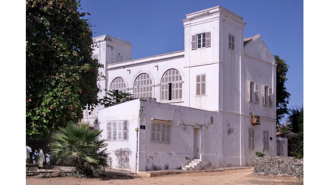 Belle demeure de l'île de Gorée