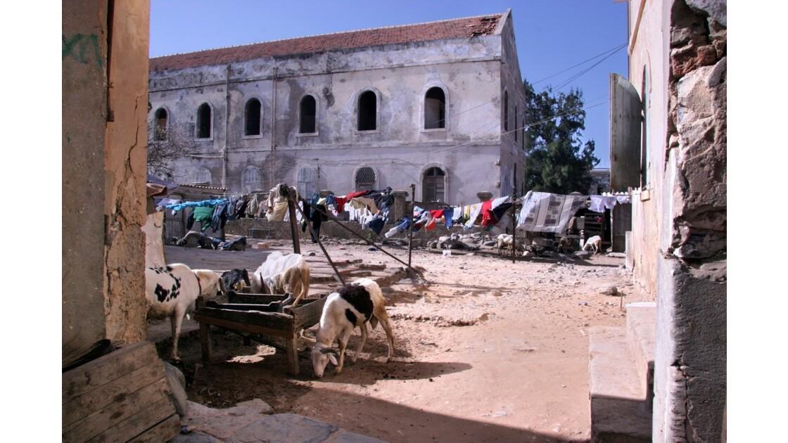 Maison coloniale de l'île de Gorée
