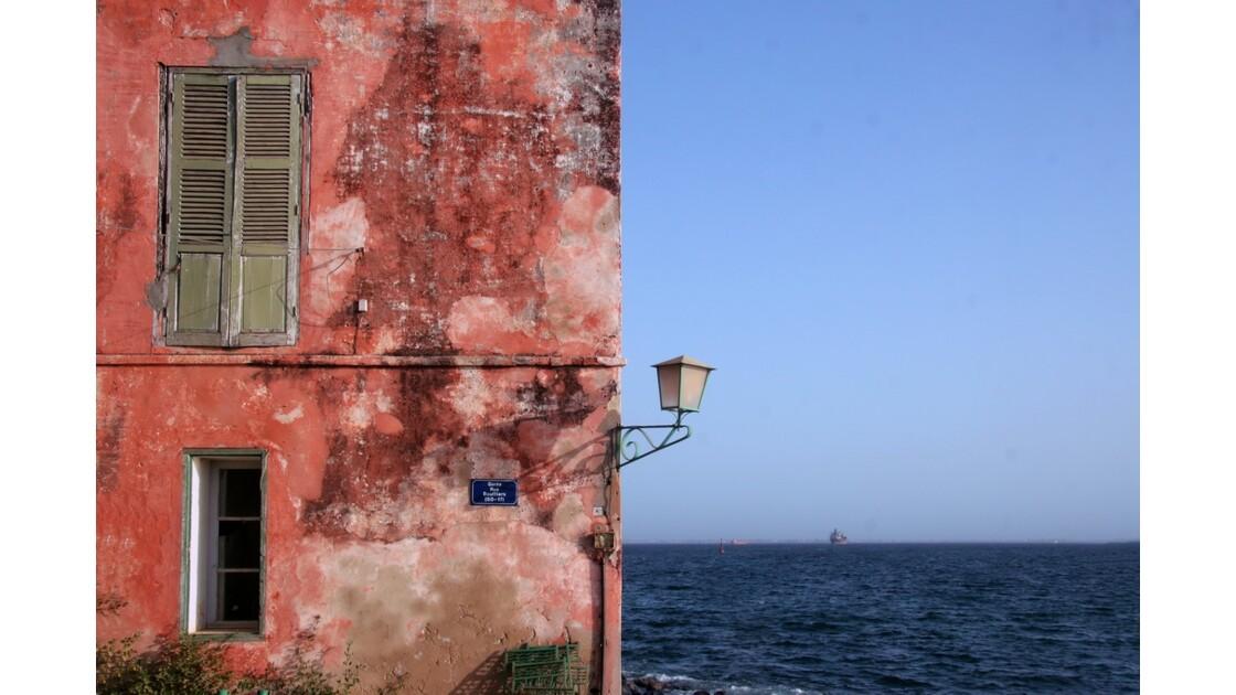 Belles couleurs de l'île de Gorée
