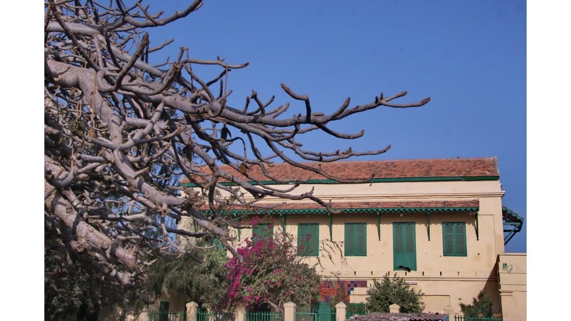 Maison coloniale sur l'île de Gorée