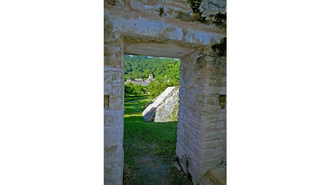 Mexique Palenque Aperçu du Palais