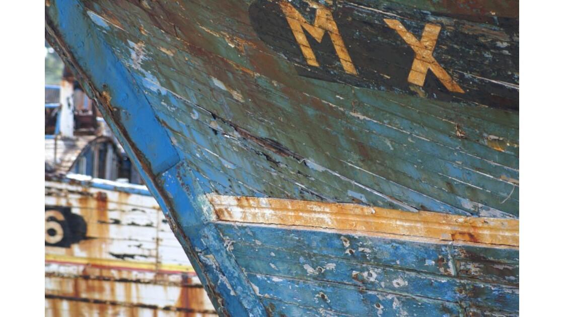 Camaret - cimetière de bateaux