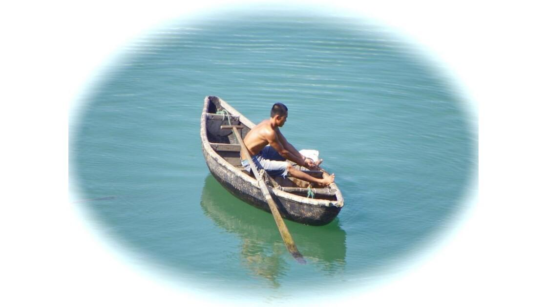 Pêcheur à Lang Cô