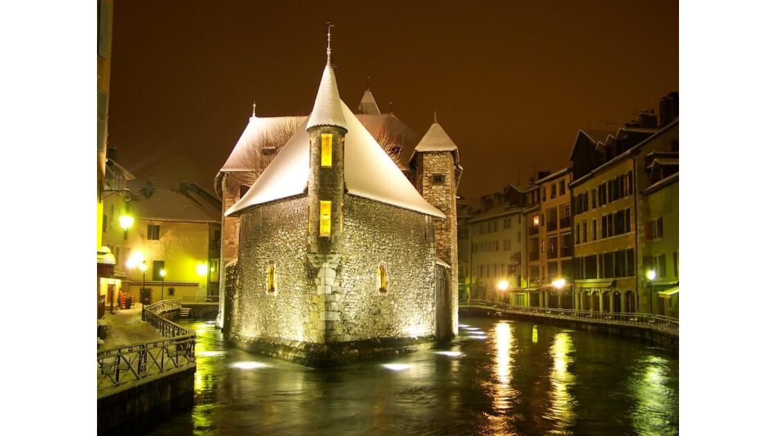 Annecy... la nuit