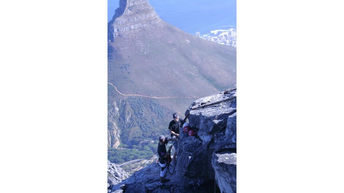 escalade  table mountain