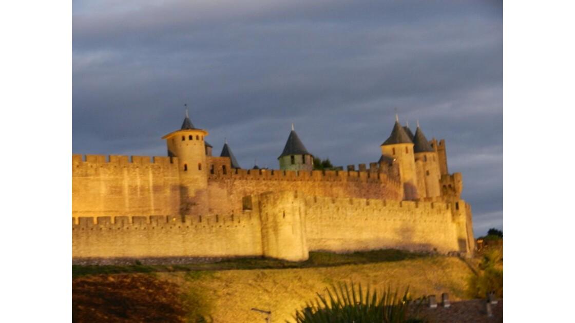 Cité de Carcassonne de nuit 2