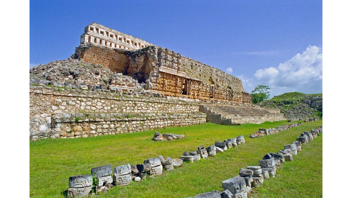 Mexique Kabah Palais des masques 2
